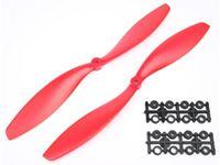 Picture of coppia eliche 10x4,5 (standard+inversa) rosso