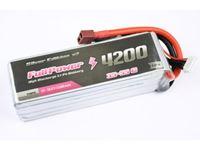 Immagine di Batteria Lipo 5S 4200 mAh 35C Silver V2 - DEANS