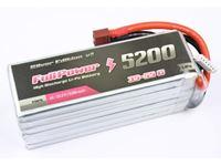 Picture of Batteria Lipo 2S 5200 mAh 35C Silver V2 - DEANS