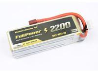 Immagine di Batteria Lipo 4S 2200 mAh 50C Gold V2- DEANS