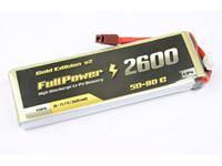Immagine di Batteria Lipo 3S 2600 mAh 50C Gold V2- DEANS