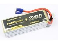 Immagine di Batteria Lipo 3S 2200 mAh 50C Gold V2 - EC3