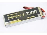 Picture of Batteria Lipo 2S 3300 mAh 50C Gold V2 - DEANS