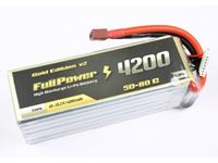 Immagine di Batteria Lipo 2S 4200 mAh 50C Gold V2 - DEANS
