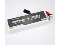 Picture of Batteria RX LiFe 2S 2100 mAh 35C V2 - JR