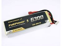 Picture of Batteria Lipo 5S 6300 mAh 50C Gold V2 - DEANS