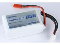 Immagine di Batteria Lipo 3S 850 mAh 90C PLATINUM - BEC