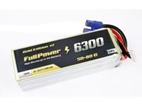 Immagine di Batteria Lipo 6S 6300 mAh 50C Gold V2 - EC5