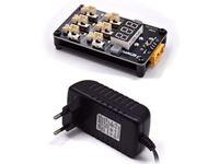 Immagine di Caricabatterie 1s Lipo per 6 lipo (normali e HV) BETAFPV 12/220V