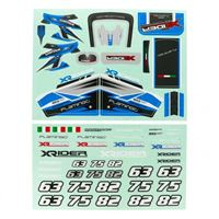 Immagine di Flamingo 1/8  X-Rider Sticker(Blue)