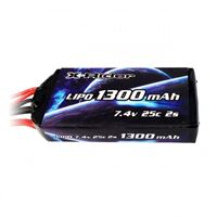 Immagine di Flamingo 1/8   Option Parts  X-Rider Lipo 7.4V 25C 1300mAh