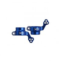 Picture of Flamingo 1/8 X-Rider Rear Hub Carrier Set(Metal,Blue)