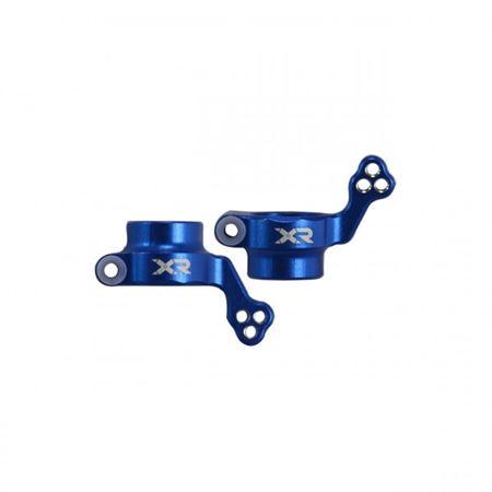Immagine di Flamingo 1/8 X-Rider Rear Hub Carrier Set(Metal,Blue)