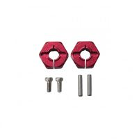 Picture of Flamingo 1/8 X-Rider 6MM Hex. Hub Set(Metal,RED)