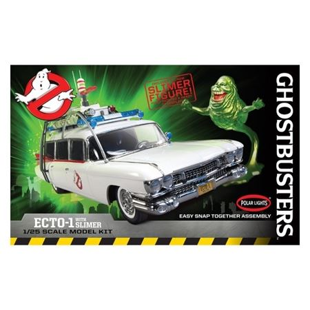 Picture of POLAR LIGHT 1/25 KIT Ghostbusters Ecto-1 with Slimer Figure Snap