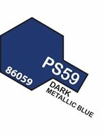 Immagine di Tamiya - SPRAY x POLIC. dark metallic blue PS59