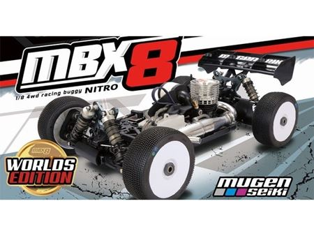 Immagine di MBX-8 1/8 4WD OFF-Road Buggy Worlds Edition MUGEN