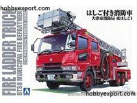 Immagine di Aoshima 1/72 KIT   Fire Ladder Truck