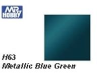 Immagine di Mr.Hobby H63 Metallic Blue Green (10 ml)