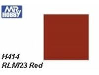 Immagine di Mr.Hobby 		H414 RLM23 Red Semi-Gloss (10 ml)