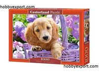Immagine di N/A PUZZLES PUPPY IN BASKET 1000 PIECES 68X47 CM