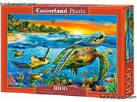 Immagine di N/A PUZZLES UNDERWATER TURTLES 1000 PIECES 68X47 CM