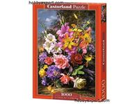Picture of N/A PUZZLES CASTORLAND PUZZLES A VASE OF FLOWERS 1000 PIECES 68 X 47 CM
