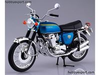 Picture of 1/12 DIE CAST (DIE CAST) Honda CB750FOUR (K0) Candy Blue