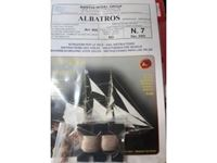 Picture of Mantua Model Albatros kit n 7 opzionale piano velico vele e accessori
