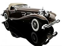 Immagine di BAUER MERCEDES BENZ 550K SPEZIAL ROADSTER BROWN 1934 1/12