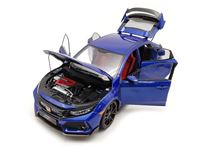 Picture of LCD MODELS HONDA CIVIC TYPE-R FK8 BLUE 1/18