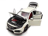 Picture of LCD MODELS HONDA CIVIC TYPE-R FK8 WHITE 1/18