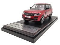 Picture of LCD MODELS RANGE ROVER SV AUTOBIOGRAPHY DYNAMIC 2017 RED 1/43
