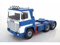 Picture of ROADKINGS SCANIA LBT 141 WHITE BLUE 1976 1/18