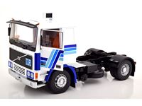 Picture of ROADKINGS VOLVO F12 WHITE & BLUE 1977 1/18