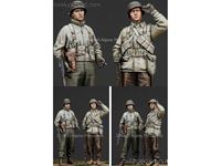 Picture of ALPINE MINIATURES  1/35 KIT (MAQUETTE) WWII US INFANTRY NCO SET
