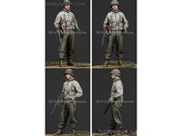 Picture of ALPINE MINIATURES  	1/35 KIT (MAQUETTE) WWII US INFANTRY NCO NO.1