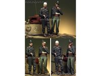 Picture of ALPINE MINIATURES  	1/35 KIT (MAQUETTE) GERMAN PANZER CREW SET