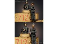 Picture of ALPINE Miniatures  	1/35 KIT (MAQUETTE) PANZER COMMANDER SET
