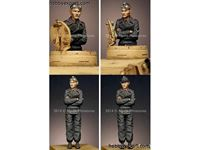 Picture of ALPINE Miniatures  	1/35 KIT (MAQUETTE) PANZER COMMANDER #2