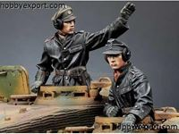 Picture of ALPINE Miniatures   	1/35 KIT (MAQUETTE) SS PANZER COMMANDER SET