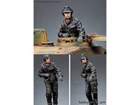 Picture of ALPINE Miniatures    	1/35 KIT (MAQUETTE) SS PANZER COMMANDER #2