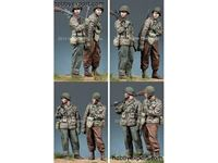 Picture of ALPINE Miniatures  	1/35 KIT (MAQUETTE) WW2 US INFANTRY SET 2 FIGURES