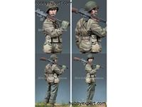 Picture of ALPINE Miniatures  	1/35 KIT (MAQUETTE) WW2 US BAR GUNNER