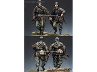 Picture of ALPINE Miniatures  	1/35 KIT (MAQUETTE) WSS INFANTRY SET 2 FIGURES