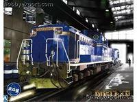 Immagine di Aoshima   1/45 KIT (MAQUETTE) (KIT (MAQUETTE)) Diesel Locomotive Dd51 Limited Express Hokutosei