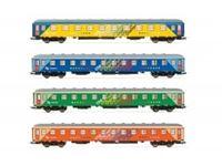 """Immagine di RENFE, """"Chartren"""" original train, 4-unit pack, Z12t-15200 coachs, period IV"""