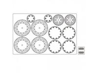 Picture of 1/12 Etching Parts for Yamaha YRZ500, 621712
