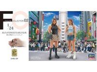 Picture of 1/24 platform boots girls, 2 Figuren