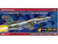 Immagine di 1/72 Area 88 F104 Starfigher GG, Seilane Balnock